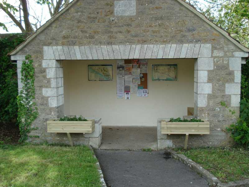 Burton Bradstock bus shelter