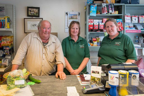 Pete, Gill and Laura welcome you to Maydown Farm Shop