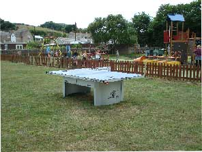Burton Bradstock table tennis table