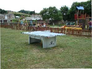 Burton Bradstock table tennis table